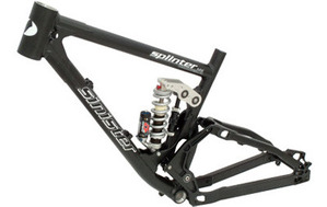 Sinister Splinter MX Black